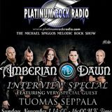The Michael Spiggos Melodic Rock Show 01.11.2015 Featuring Tuomas Seppala (Amberian Dawn)