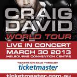 Craig David World Tour 2013 CD Mixed by Stefan Radman