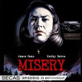 SECAS Episodio 13 (II Temporada) Malvadas: Misery, What Ever Happened to Baby Jane?, Gone Girl