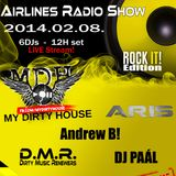 Dirty Music Renewers - Live @ AirLines Radio Show