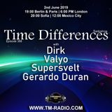 Valyo - Guest Mix - Time Differences 368 (2nd June 2019) on TM Radio