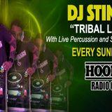 DJ Stingray Tribal Life Show On Hook & Bass Radio