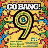 Steve Fabus & Sergio Fedasz at Go BANG! December 2017 - Our 9th Anniversary!