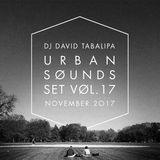 Urban Sounds Set Vol. 17 - November 2017