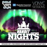 Paul van Dyk - Vonyc Sessions 497 (03.03.2016) Spezial LIVE Set Winter VANDIT Nights 2015