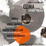 """ARNO E. MATHIEU DJ SET FOR CLIMA RECORDS """"STRONGER TOGETHER"""" NIGHT – BADABOUM CLUB, PARIS 23.10.2014"""
