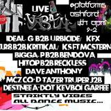 LiveUrban 4th April Dj Xlr8 b2b Kritikal Mcz Tazer Destnee J2b