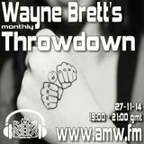 The Throwdown with Wayne Brett on AMW 27-11-14