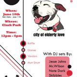 Jesse Johns live @ Bangarang presents : Party Animals - City of Elderly Love. 6/10/17