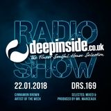 DEEPINSIDE RADIO SHOW 169 (Cinnamon Brown Artist of the week)