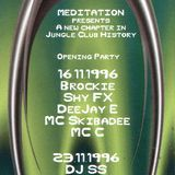 Brockie & MC Skibadee live @ Meditation Outbreak Mannheim '96 side A