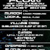Villains Crew @ Signal Flow Radio 8 14 12