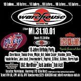"Acid Junkies LIVE PA at ""10 Jahre Warehouse"" @ Warehouse Club (Köln-Germany) - 31 October 2001"