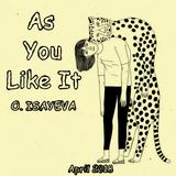 O. ISAYEVA - As You Like It (April 2018)