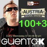 Austria Music Show 100+3 von und mit Guenta K auf 54House.fm
