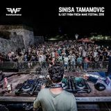 Sinisa Tamamovic Live DJ Set at Fresh Wave Festival 10th August 2018
