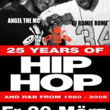 DJ Romie Rome and Angel The MC  Live from 25 Years of Hip Hop and R&B, 20 March 2015