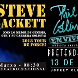 ESPECIAL PHIL COLLINS THE PRETENDERS Y STEVE HACKETT EN CONCIERTO