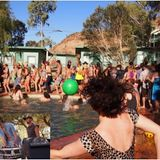 Cutlery Pool Party (Wide Open Space Festival 2013, Ross River, NT)