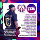 DJ Sammy V - Freshers 2015 Mix