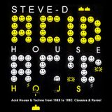 Steve-D aka Tevatron - Acid House & Techno from 1988 to 1992. Classics & Rares!.