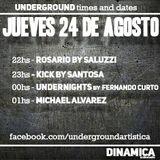 170824 - Kick by Santosa @ Dinamica Underground