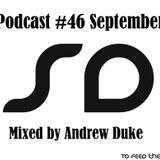 SoundDesigners Podcast #46 September Mixed By Andrew Duke