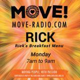 Rick's (Edited) Breakfast Menu 26/2/18