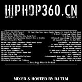 DJ TLM - Hip Hop 360 Vol.1 mixtape for hiphop360.cn (China)