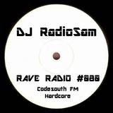 RadioSam Presents RAVE RADIO #080 LIVE on Code South 105.6 FM 09/05/2018