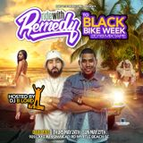 Ride With Remedy to Black Bike Week 2018 MIxtape