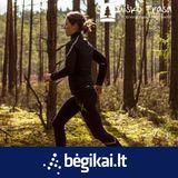 Bėgikai.lt #47   Evelina Bacienė: bėgdamas miške, jautiesi laisvas