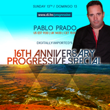 Pablo Prado - Digitally Imported's 16 Year Anniversary Progressive Special Guest Mix