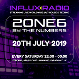 2one6 - LIVE on INFLUX RADIO (2019-07-20) solid TECHNO