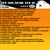 THE MIX MUSIC #124! TOP 20 MARCH - 25/03/2017