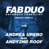 The Fabulous Duo ST with Andrea Urero & Andy 2nd Roof