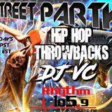 DJ VC- Street Party Rhythm 105.9 KRYC FM 11-18-17 (HIP HOP THROWBACKS)