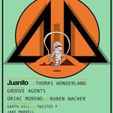 Garth Hill b2b Twisted P promo set for 4by4 at 1001 presents Juanito!