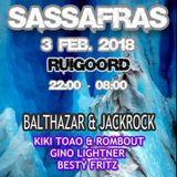 Kiki Toao & Rombout - Sassafras February 3rd 2018