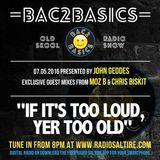 Chris Biskit - Bac2basics On Scotlands Radio Saltire (Presented by John Geddes)