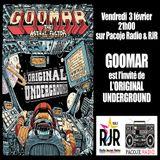 L'Original Underground live@RJR 2017.02.03 interview Goomar