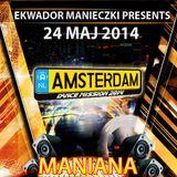 AMSTERDAM DANCE MISSION 2014 vol.12 Czerwona Sala Dj Maniana