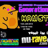 Gl0wKiD Generation X Radio Show - Hamsta Guest Mix