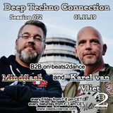 Deep Techno Connection Session 072 (with Karel van Vliet and Mindflash)