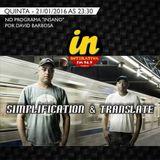 Simplification & Translate - Programa InSaNo @ Interativa 94,9 FM Goiânia - 01/21/2016