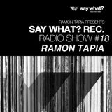 Say What? Podcast 018 with Ramon Tapia