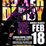 Tragic City Rollers All Stars vs Chattanooga Roller Girls 2.18.17