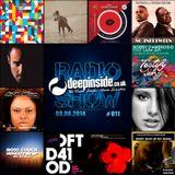 DEEPINSIDE RADIO SHOW 011 (Bobby D'Ambrosio Artist of the week)