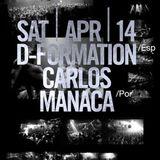 Carlos Manaça - Live @ Stereo Club, Montreal, Canadá (14.04.2012)