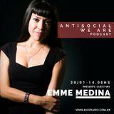 Antisocial Podcast - Sab. 28 ene. Emme Medina